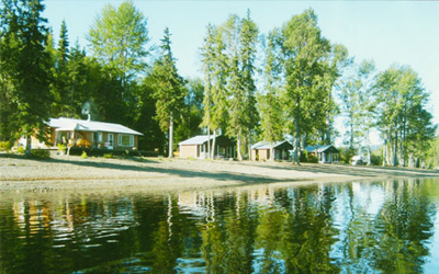 The Narrows on Takla Lake - lakefront cabins for rent