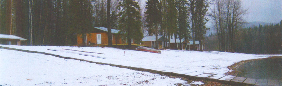 The Narrows - Wilderness Cabins on Takla Lake
